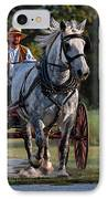 Horse And Buggy IPhone Case