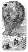Hot Air Balloon Inflation IPhone Case by Granger