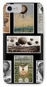Hot Air Balloon Posters IPhone Case by Andrew Fare