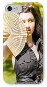 Hot Woman IPhone Case by Jorgo Photography - Wall Art Gallery