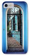 House Door 4 In Charleston Sc  IPhone Case by Susanne Van Hulst