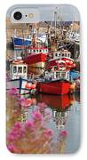 Howth Harbour IPhone Case by Gabriela Insuratelu