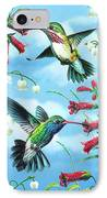 Humming Birds IPhone Case by JQ Licensing
