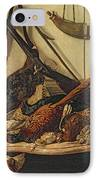 Hunting Trophies IPhone Case by Claude Monet