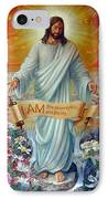 I Am The Resurrection IPhone Case