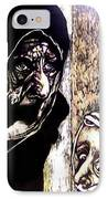 Ibhabitants Of The Precipice IPhone Case by Chester Elmore