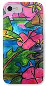 Iguana Eco Tour IPhone Case by Patti Schermerhorn