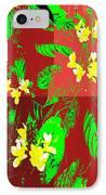 Ikebana IPhone Case by Eikoni Images