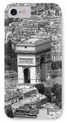 In Paris Bw IPhone Case