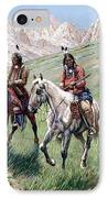 In The Cheyenne Country IPhone Case by John Hauser