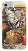 Incas IPhone Case by James Edwin McConnell