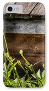 Insect - Spider - Charlottes Web IPhone Case by Mike Savad