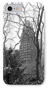Into Bryant Park Mono IPhone Case