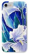 Iris IPhone Case by Francine Dufour Jones
