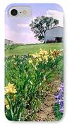 Iris Farm IPhone Case by Steve Karol