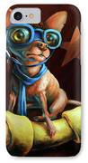 I've Got Mine IPhone Case by Vanessa Bates