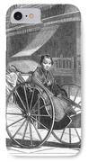 Japan: Rickshaw, 1874 IPhone Case by Granger