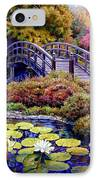 Japanese Bridge IPhone Case