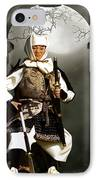 Japanese Samurai Doll IPhone Case by Christine Till