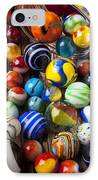 Jar Of Marbles IPhone Case by Garry Gay