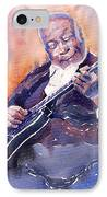 Jazz B.b. King 03 IPhone Case