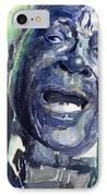Jazz B.b.king 04 Blue IPhone Case