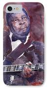 Jazz B B King IPhone Case