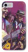 Jazz Guitarist Duet IPhone Case