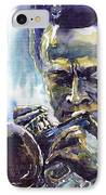 Jazz Miles Davis 10 IPhone Case