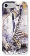 Jazz Muza Saxophon IPhone Case