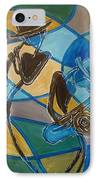 Jazz Raz IPhone Case