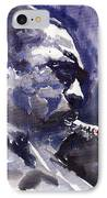 Jazz Saxophonist John Coltrane 01 IPhone Case