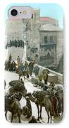Jerusalem: Bazaar, C1900 IPhone Case