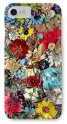 Jeweled Garden IPhone Case by Donna Blackhall