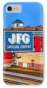Jfg Coffee IPhone Case by Steven  Michael