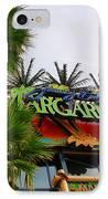 Jimmy Buffets Margaritaville In Las Vegas IPhone Case by Susanne Van Hulst