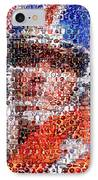 John Elway Mosaic IPhone Case