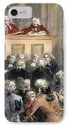 John Peter Zenger Trial IPhone Case by Granger