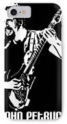John Petrucci No.01 IPhone Case by Caio Caldas