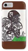Johnny Manziel 8 IPhone Case by Jeremiah Colley