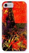 Jungle At The Corner Of Concha And Laconia IPhone Case by Eikoni Images