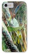 Jungle Light IPhone Case