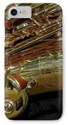 Jupiter Saxophone IPhone Case by Michelle Calkins