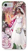 Kate The Princess Bride IPhone Case by Patricia Allingham Carlson