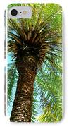 Key West Palm Triplets IPhone Case by Susanne Van Hulst