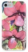 Kiahuna Orchids IPhone Case