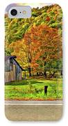 Kindred Barns Painted IPhone Case