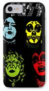 Kiss No.02 IPhone Case by Caio Caldas
