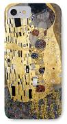Klimt: The Kiss, 1907-08 IPhone Case by Granger