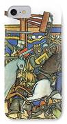 Knights Templar 13th Century IPhone Case